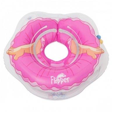 Plaukimo ratas kūdikiams ant kaklo 3D Balerina, Roxy Kids