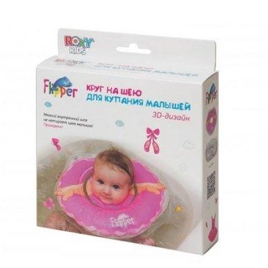 Plaukimo ratas kūdikiams ant kaklo 3D Balerina, Roxy Kids 8