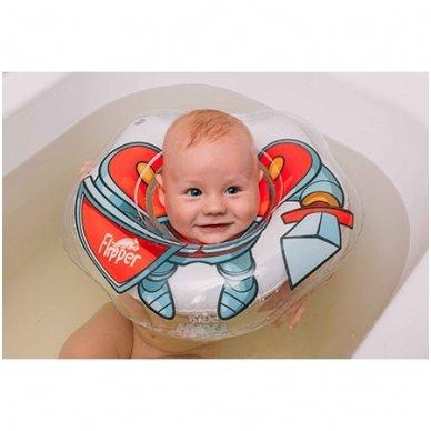 Plaukimo ratas kūdikiams ant kaklo 3D Riteris, Roxy Kids 2
