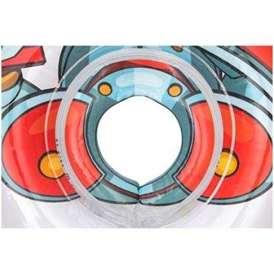 Plaukimo ratas kūdikiams ant kaklo 3D Riteris, Roxy Kids 3