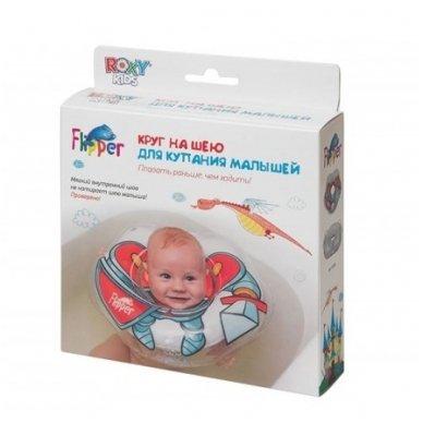 Plaukimo ratas kūdikiams ant kaklo 3D Riteris, Roxy Kids 5