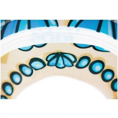 Plaukimo ratas kūdikiams ant kaklo 3D Undinėlė, Roxy Kids 6