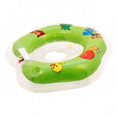 Plaukimo ratas kūdikiams ant kaklo Flipper green, Roxy Kids 2
