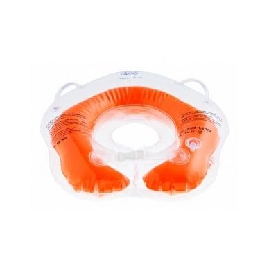 Plaukimo ratas kūdikiams ant kaklo Flipper red, 2+ Roxy Kids 2