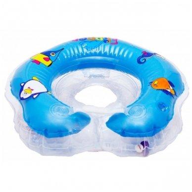 Plaukimo ratas kūdikiams ant kaklo Flipper blue, Roxy Kids 3