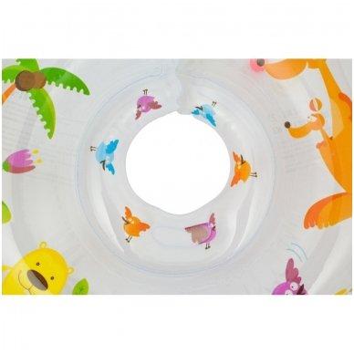 Plaukimo ratas kūdikiams ant kaklo Flipper Kengu, Roxy Kids 5
