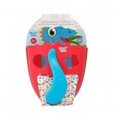 Žaisliukų semtuvas-dėklas Dino