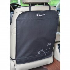 Sėdynės apsauga su kišenėmis, BabyGo 2 vnt.