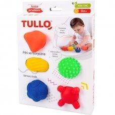 Sensoriniai kamuoliukai Tullo, 5 vnt.
