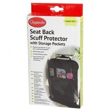 Sėdynės apsauga su kišenėmis