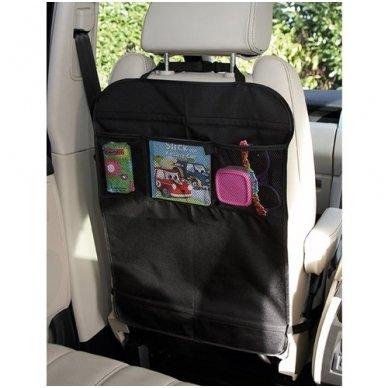 Sėdynės apsauga su kišenėmis 2