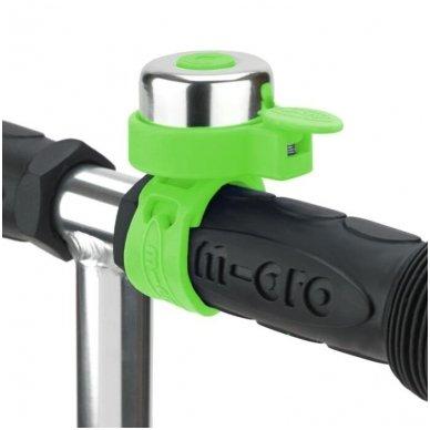 Skambutis MICRO žalias 2