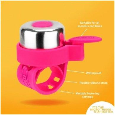 Skambutis MICRO Neon rožinis 3
