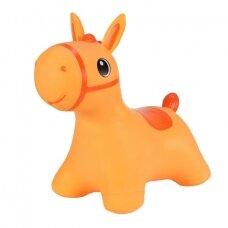 Šokliukas vaikams Tootiny, oranžinis arkliukas