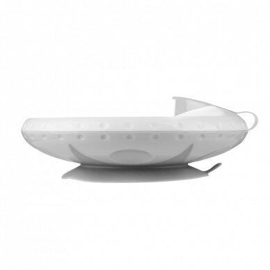 Termo lekštė su prie stalo limpančiu dugnu Grey
