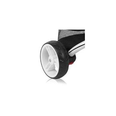 Triratukas/balansinis dviratukas Rocket Red  PVC ratai 17