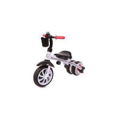 Triratukas/balansinis dviratukas Rocket Green Lines PVC ratai  5