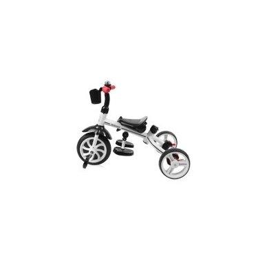 Triratukas/balansinis dviratukas Rocket Red  PVC ratai 5