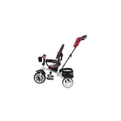 Triratukas/balansinis dviratukas Rocket Red  PVC ratai 3