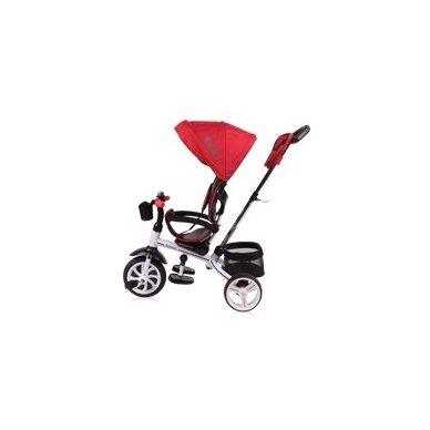 Triratukas/balansinis dviratukas Rocket Red  PVC ratai 2