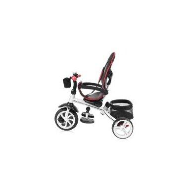 Triratukas/balansinis dviratukas Rocket Red  PVC ratai 4