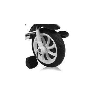 Triratukas/balansinis dviratukas Rocket Green Lines PVC ratai  11