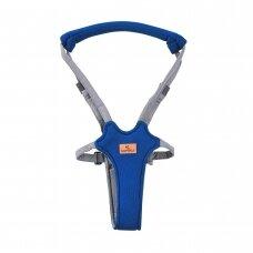 Vadelės Baby Walk Safety Harness Step by Step Dark Blue