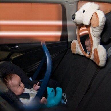 Veidrodėlis stebėti  kūdikį automobilyje Luca Varliukas 2