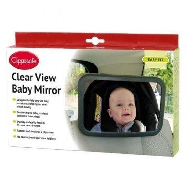 Veidrodėlis stebėti  kūdikį automobilyje, Clippasafe