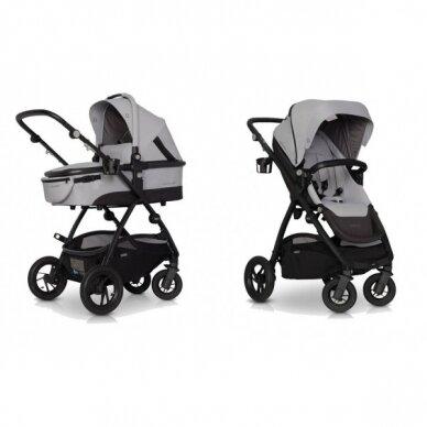 Vežimėlis Optimo Air, Grey Fox 3in1 11