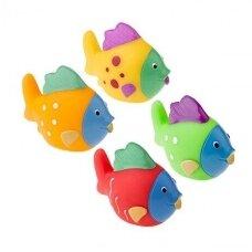 Vonios žaislai žuvytės Tullo 4 vnt.