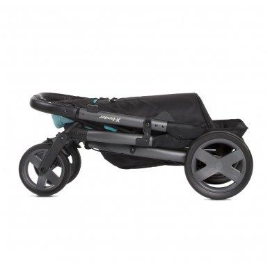 X-Lander X-Cite vežimėlis 3in1 su autokėdutė Maxi Cosi Cabriofix 8