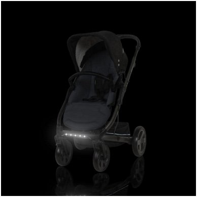 X-Lander X-Cite vežimėlis 3in1 su autokėdutė Maxi Cosi Cabriofix 12