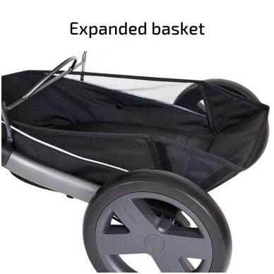 X-Lander X-Cite vežimėlis 3in1 su autokėdutė Maxi Cosi Cabriofix 17