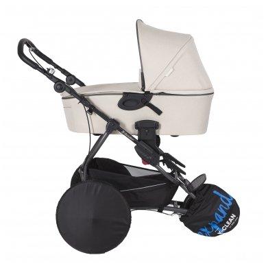 X-Lander X-Clean vežimėlio apsauga ratams Neilonas 3vnt