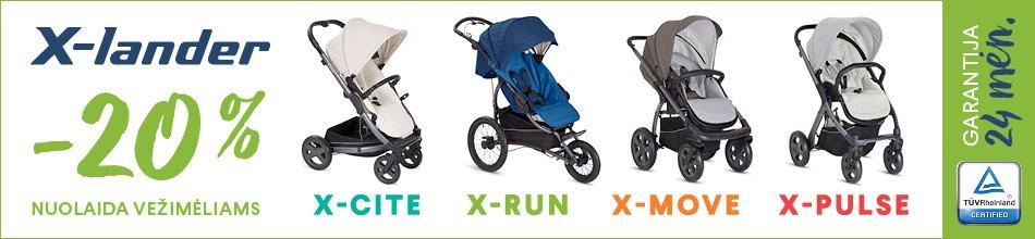 X-Lander strollers
