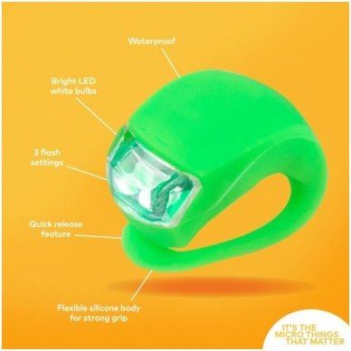 Žibintuvėlis MICRO žalias 3