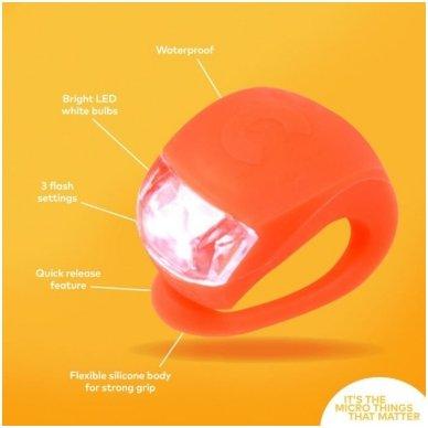 Žibintuvėlis MICRO oranžinis 3